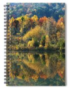 Fall Kaleidoscope Spiral Notebook