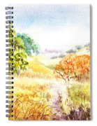Fall Landscape Briones Park California Spiral Notebook
