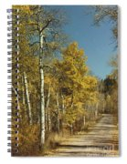 Fall Lane Spiral Notebook