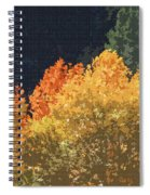 Fall Leave On The East Verde River Spiral Notebook