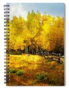 Fall Near Lake City Spiral Notebook