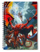 Fall Of The Hydra Spiral Notebook