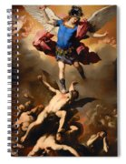 Fall Of The Rebel Angels Spiral Notebook