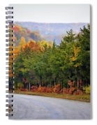 Fall On Fox Hollow Road Spiral Notebook