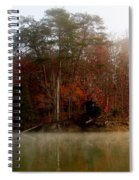 Fall On Melton Hill Lake Spiral Notebook