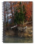 Fall On Melton Hill Lake IIi Spiral Notebook
