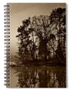 Fall On Melton Hill Lake V Spiral Notebook