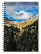 Fall On Red Mountain Pass Spiral Notebook