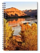 Fall On The Colorado Spiral Notebook