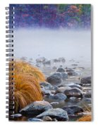 Fall On The Merced Spiral Notebook