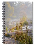 Fall On The River Spiral Notebook
