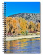 Fall On The Snake River Spiral Notebook