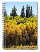 Fall Panorama Spiral Notebook