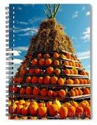 Fall Pumpkins Spiral Notebook