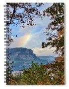 Fall Rainbow Spiral Notebook