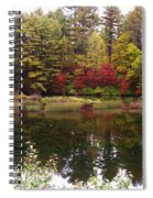 Fall Reflection And Colors Spiral Notebook
