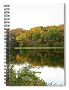Fall Reflections Spiral Notebook