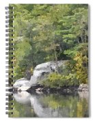 Fall Reflections Wc Spiral Notebook