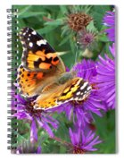 Fall Royalty Spiral Notebook