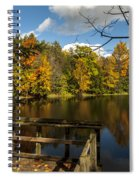 Fall Scene Spiral Notebook