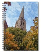 Fall Steeple Spiral Notebook