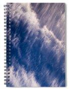 Fall Streak Clouds 5 Spiral Notebook
