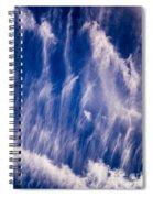 Fall Streak Clouds  Spiral Notebook