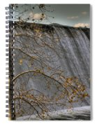 Fall Time Waterfall Spiral Notebook