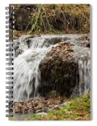 Fall Time Waterfalls Spiral Notebook