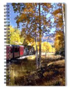 Fall Train Ride New Mexico Spiral Notebook
