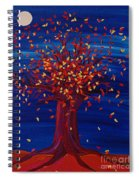 Fall Tree Fantasy By Jrr Spiral Notebook