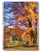 Fall Trees Spiral Notebook