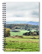 Fall Vermont Landscape Spiral Notebook