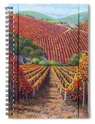 Fall Vineyard Spiral Notebook