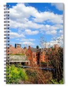 Fall Walk On The High Line Spiral Notebook