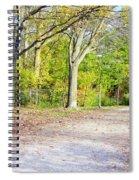 Fall Walk Spiral Notebook