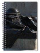Fallen Artilleryman Spiral Notebook