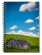 Fallen Barn Spiral Notebook