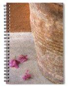 Fallen Flowers Spiral Notebook