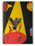 Fallen Hero  Spiral Notebook