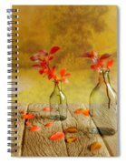 Fallen Leaves Spiral Notebook