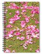 Fallen Rhododendron Spiral Notebook
