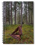 Fallen Tree Spiral Notebook