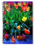 Fallen Tulips Spiral Notebook