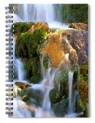 Fallin' Water Spiral Notebook