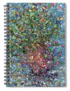 Falling Flowers Spiral Notebook
