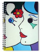 Falling In Love Spiral Notebook