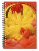 Falling Into A Flower Spiral Notebook