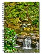 Falling Into Nantahala Spiral Notebook