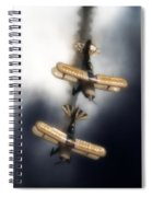 Falling Pitts Spiral Notebook